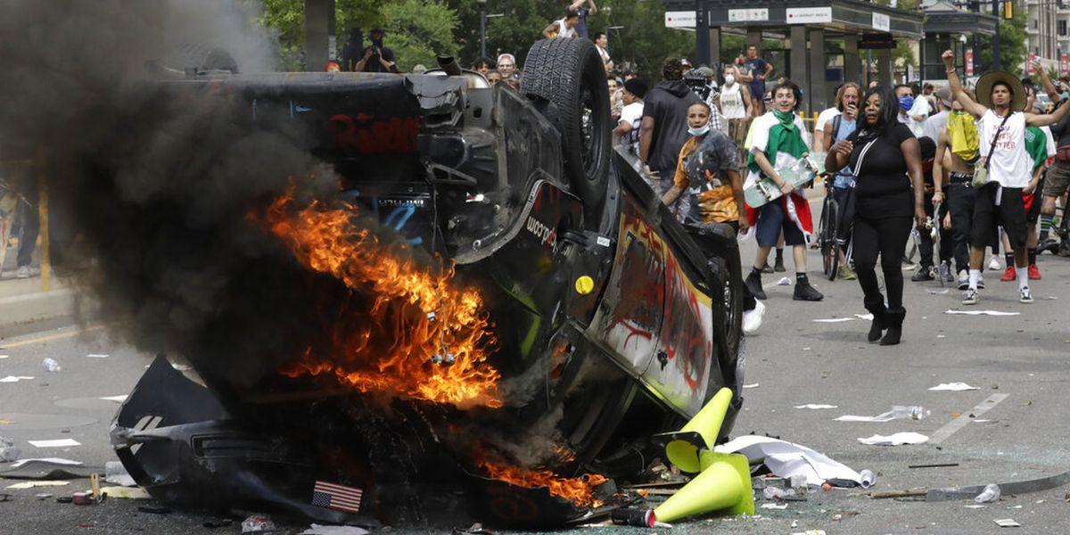 AP finds most arrested in protests aren't leftist radicals