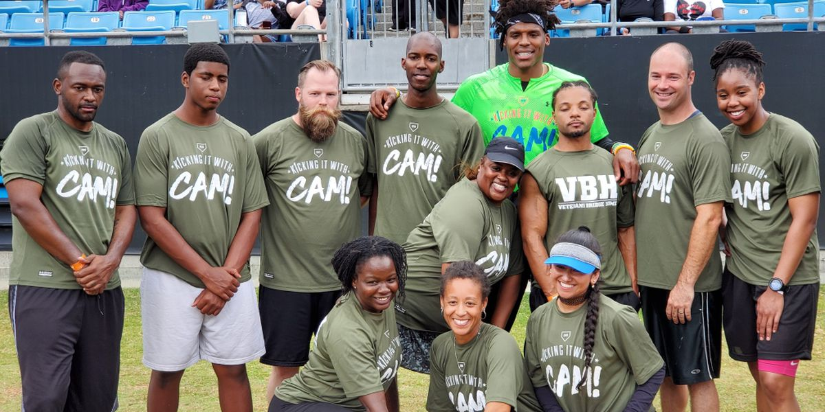 Cam Newton Gives Back on the Eve of his 30th Birthday