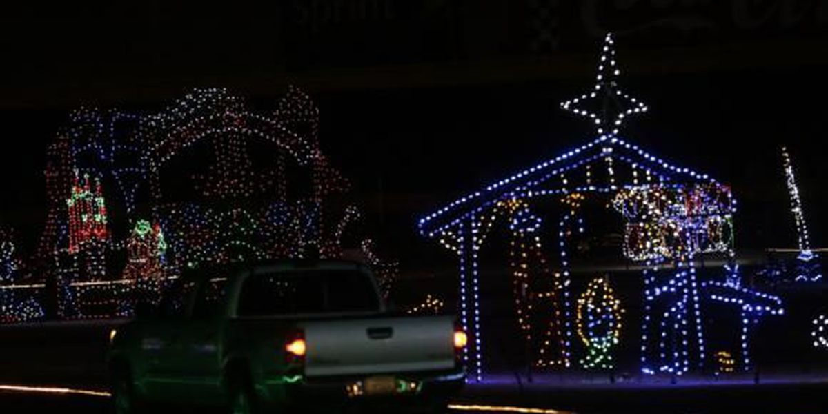 Speedway Christmas Lights.Speedway Christmas Lights And More Begin This Weekend