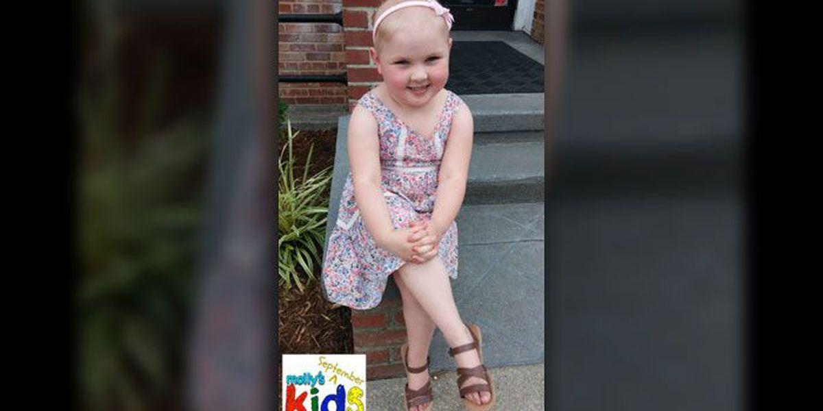 Molly's Kids (Sept. 2): Kannapolis 4-year-old battling leukemia