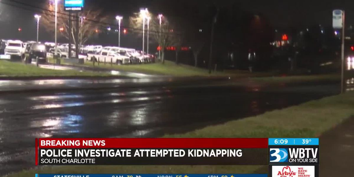 Police investigate attempted kidnapping in south Charlotte