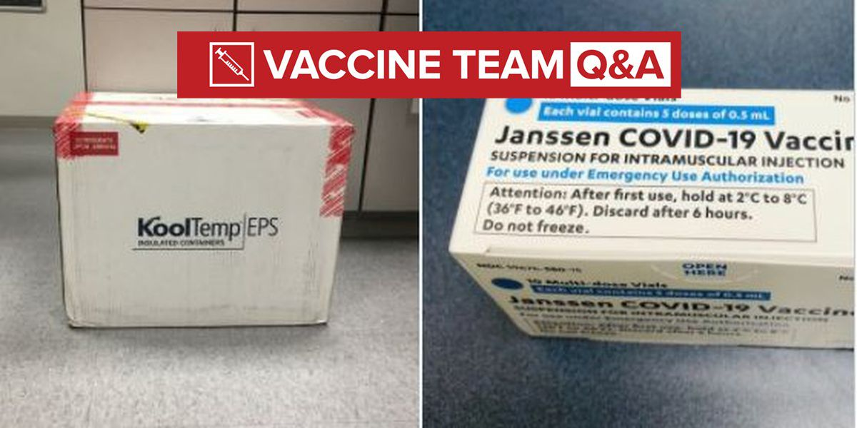 VACCINE TEAM: I got the Johnson & Johnson vaccine in March - should I be worried I'm not fully vaccinated?