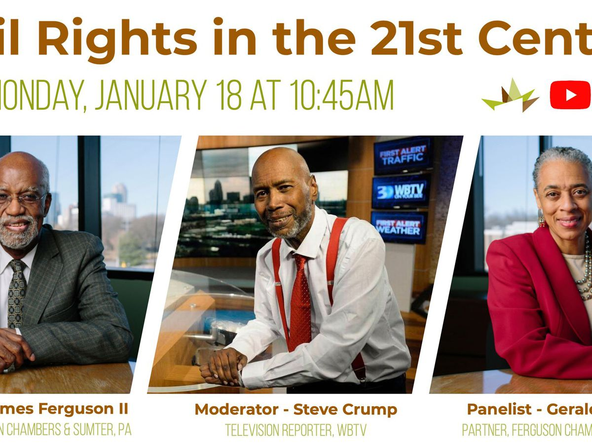 WBTV's Steve Crump moderates virtual roundtable on MLK Day presented by Gantt Center