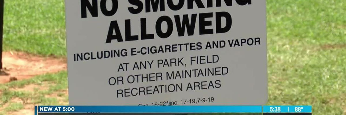 Town of Maiden bans all tobacco products from parks, town property