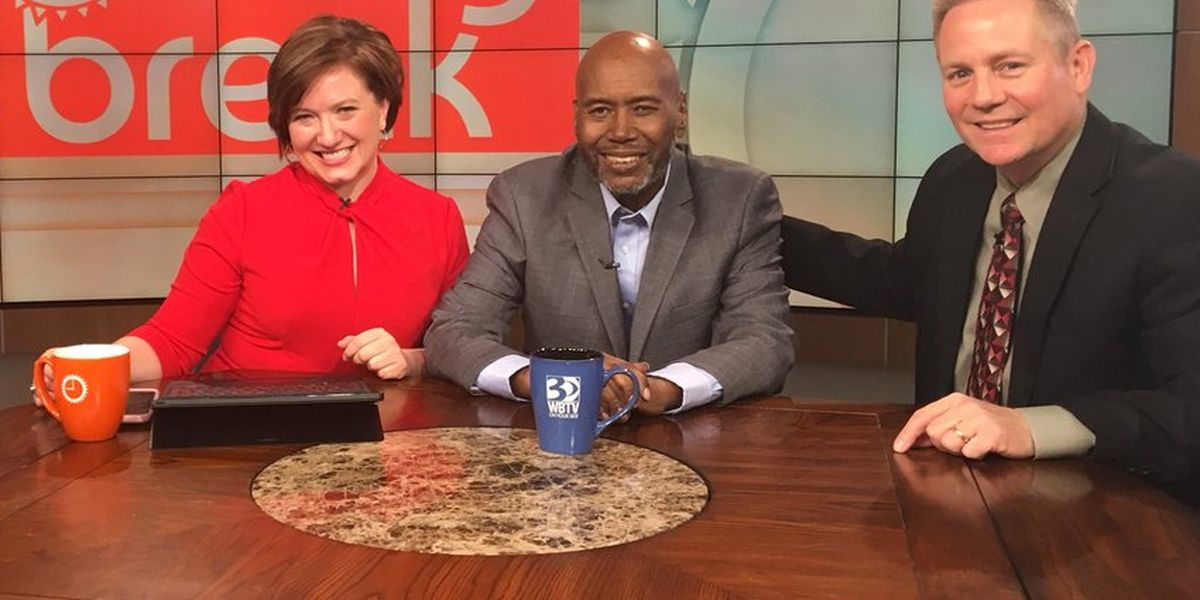 Steve Crump shares his diagnosis during Colon Cancer Awareness Month on Morning Break