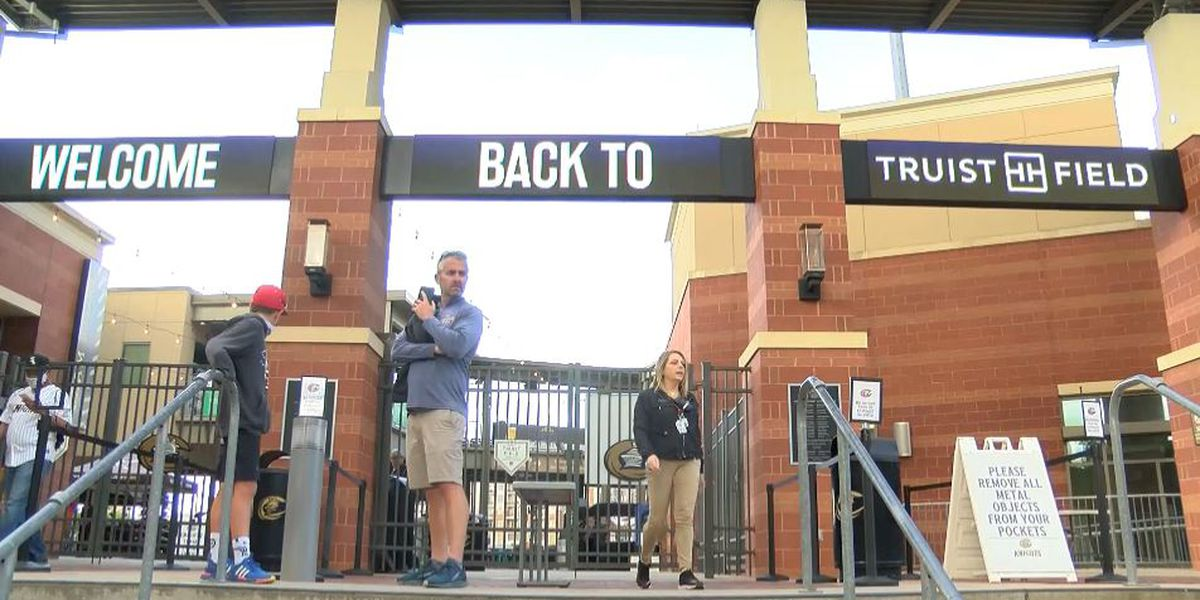 Fans rejoice as mask mandate lifted hours before Charlotte Knights game