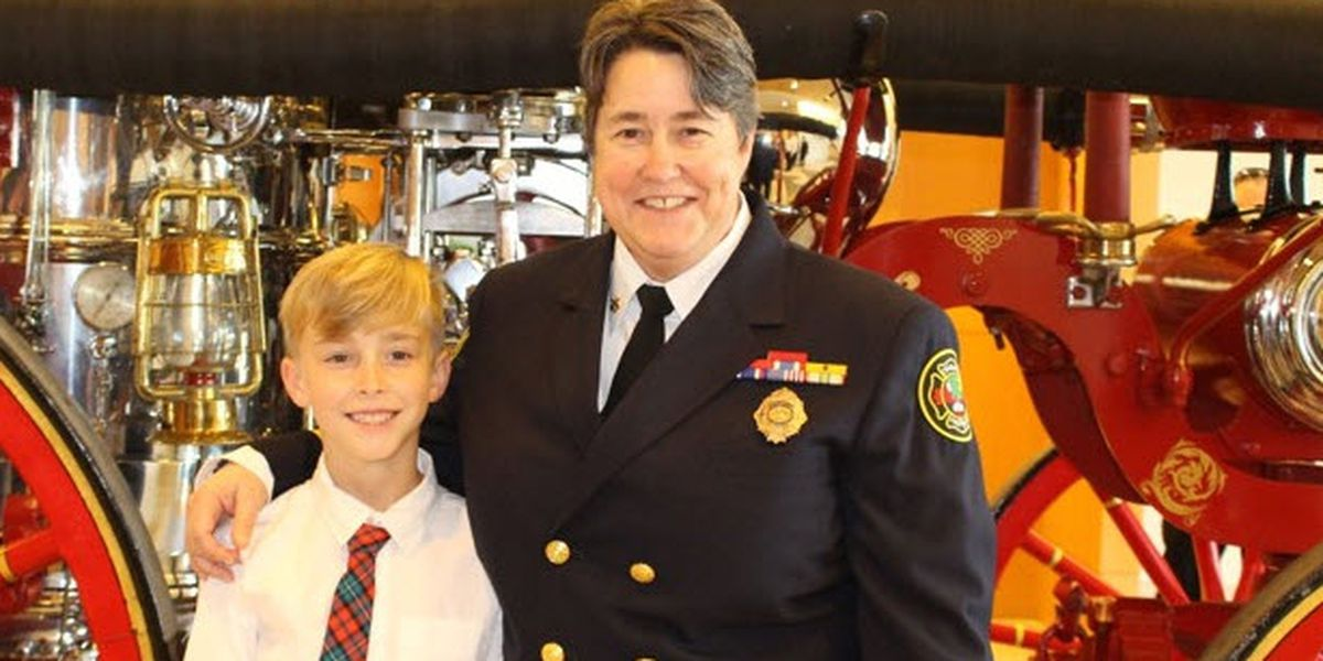 Meet the highest-ranking woman in the Charlotte Fire Department