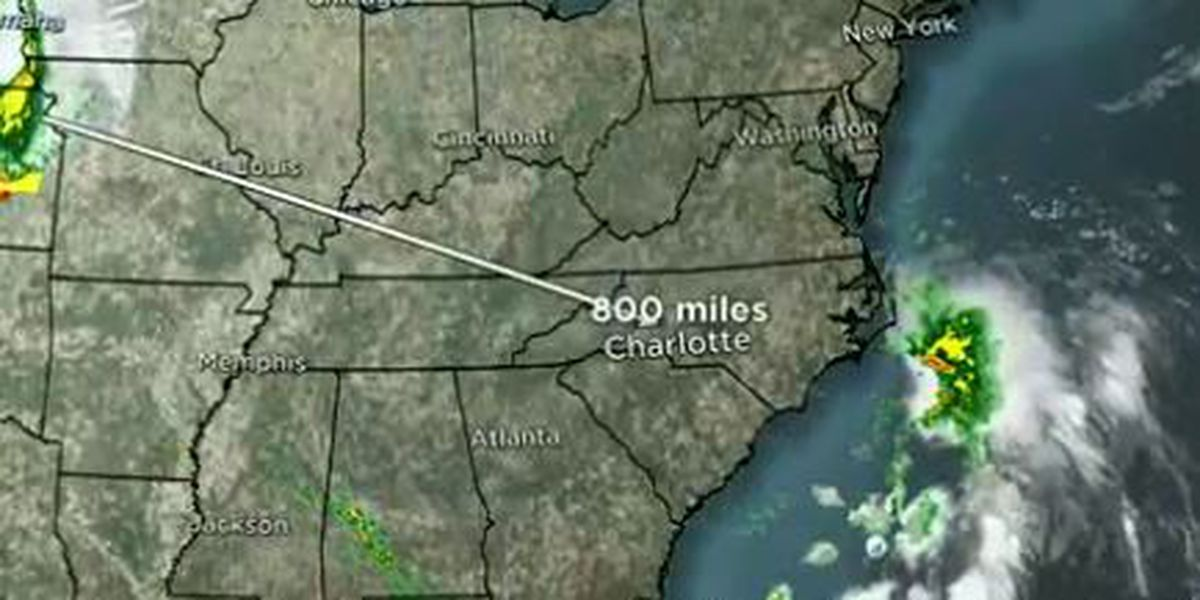 Tropical system off NC coast could mean more rain for beachgoers