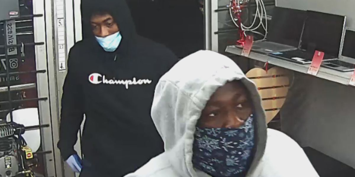 Crime Stoppers: Police looking for two men responsible for robbing pawn shop in south Charlotte