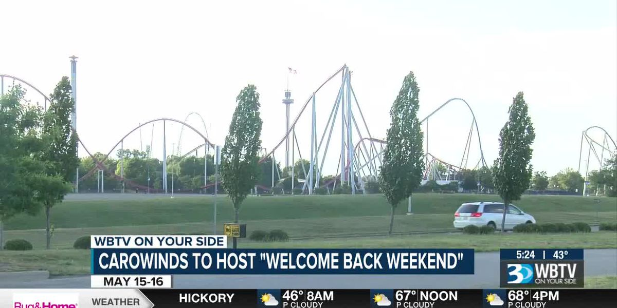 "Carowinds to host ""Welcome Back Weekend"""