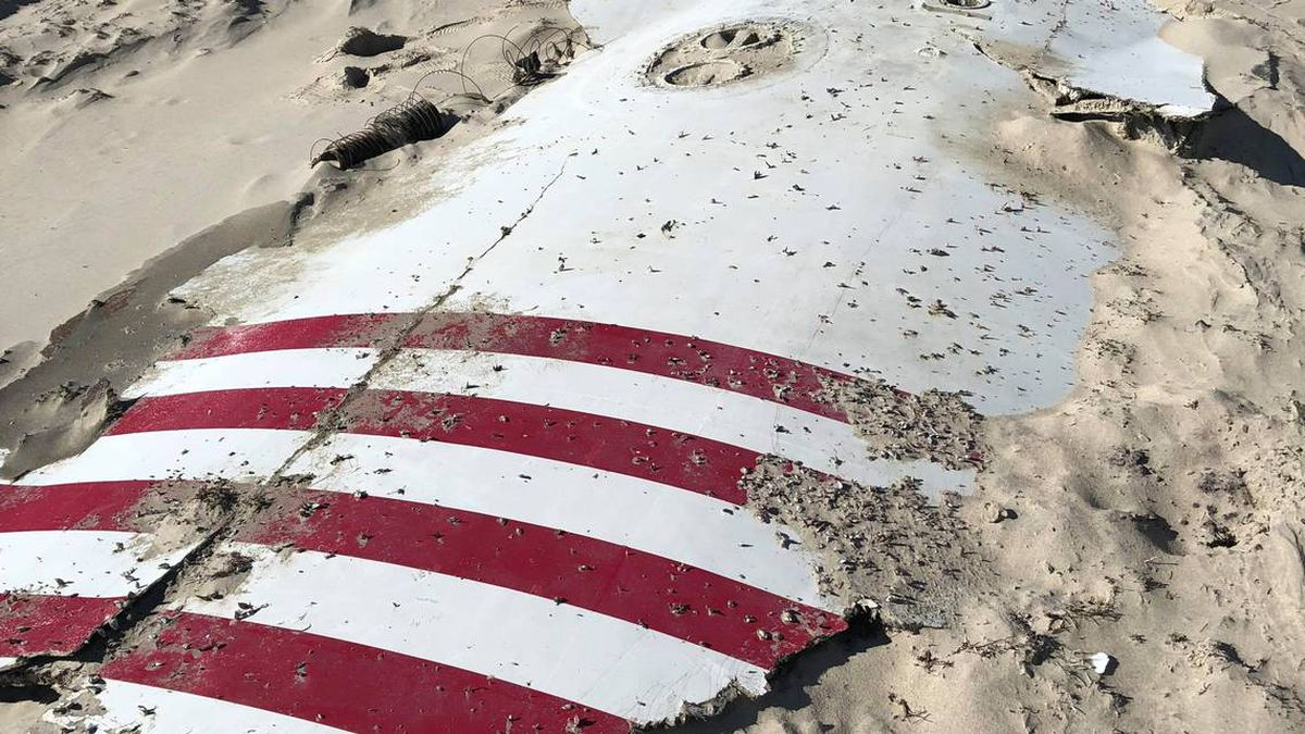 Rocket part found on Outer Banks beach belongs to Elon Musk's SpaceX, park confirms