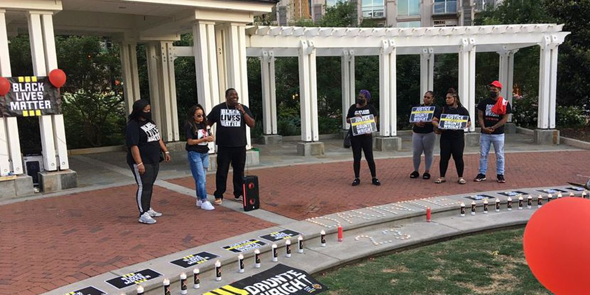 Family leads rally in Charlotte for Daunte Wright, 20-year-old killed by police officer in Minnesota
