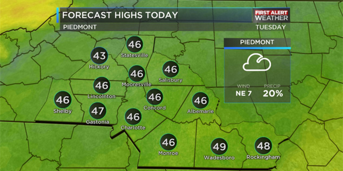 BLOG: Big temperature swing over the next 48 hours