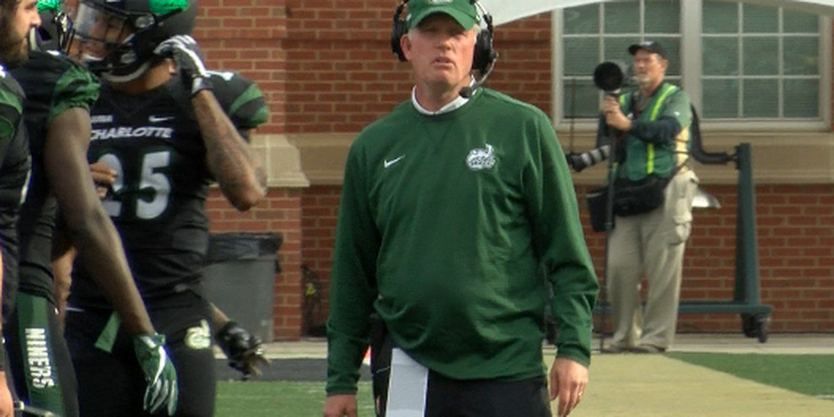 Charlotte 49ers football moving on from head coach Brad Lambert