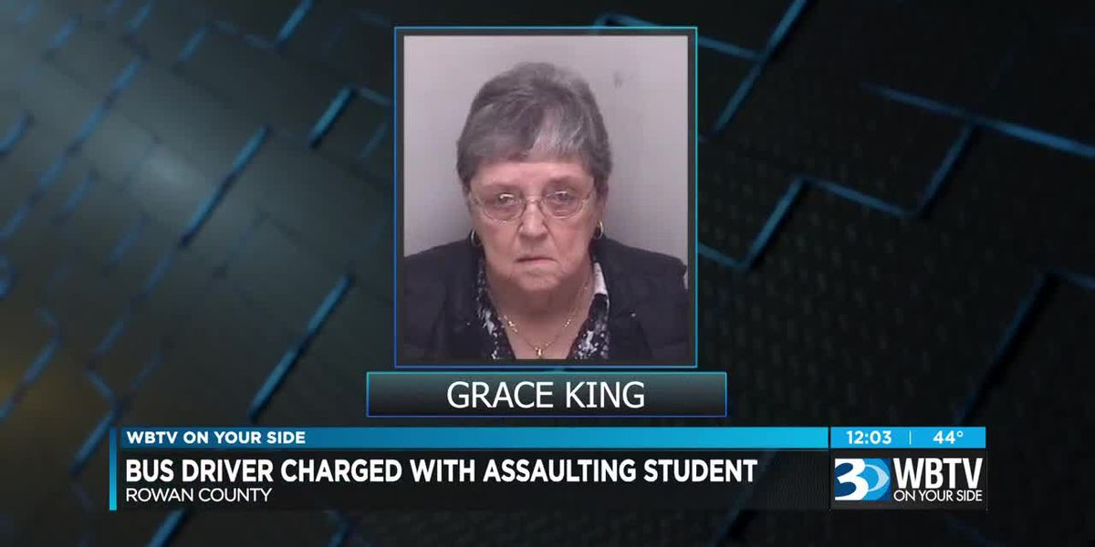 Bus driver charged with assaulting student