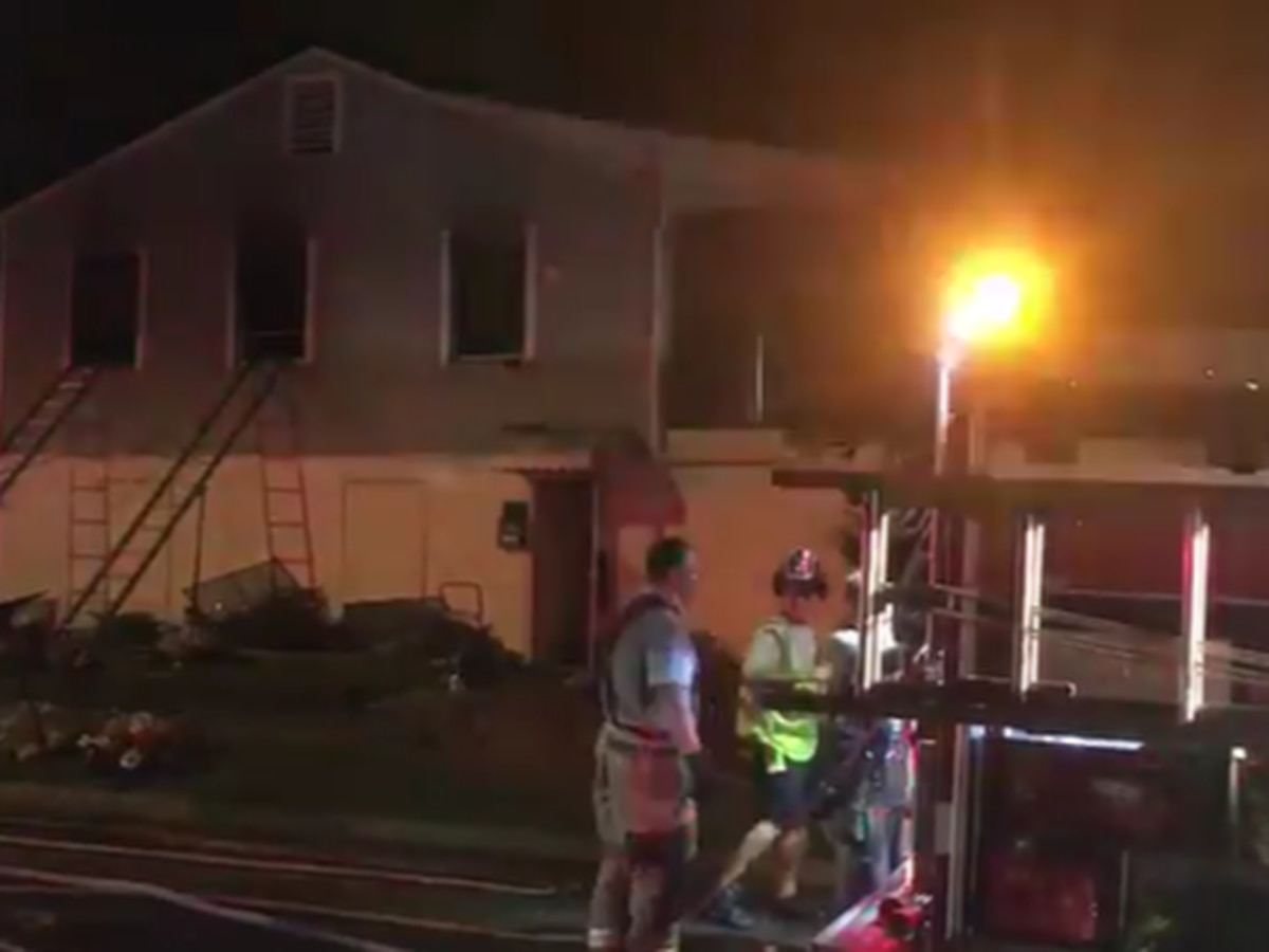 23 firefighters control fire at house in Charlotte