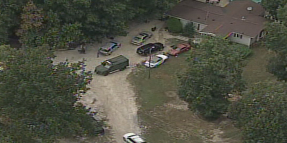 Police search Cherryville home two days after shots fired into officer's home
