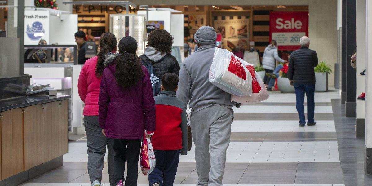 A strong economy translates into big sales this holiday