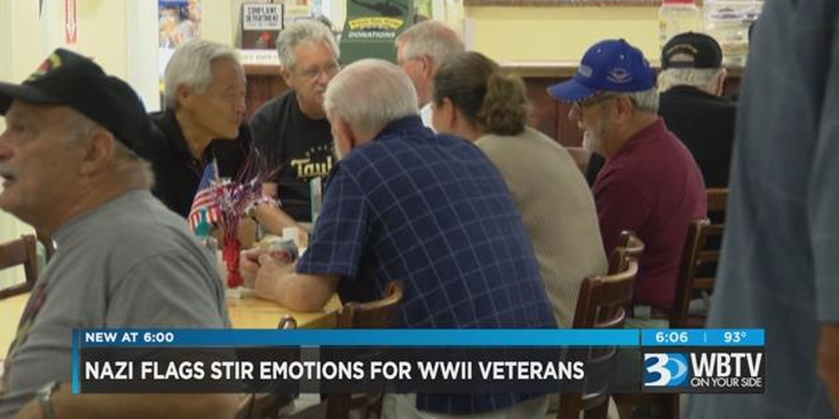 WWII veterans react to use of Nazi flag in Charlottesville