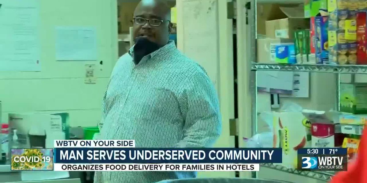 Man on a mission to feed the hungry during pandemic