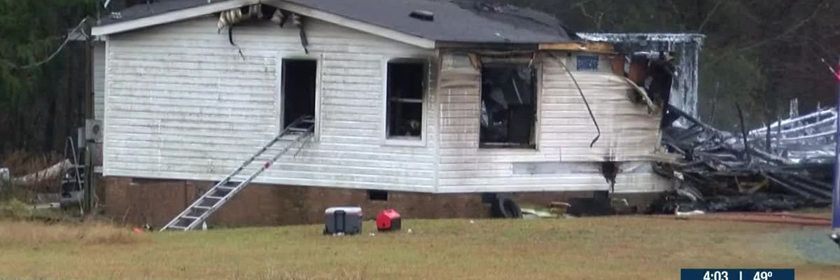 Dog killed in house fire in Union County