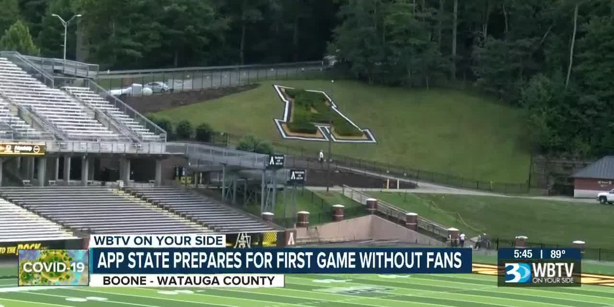 App State prepares for first game without fans