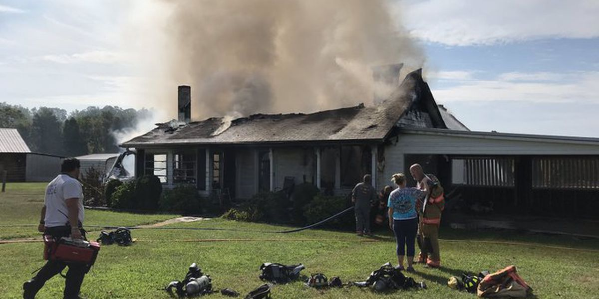 Rowan County home destroyed by fire