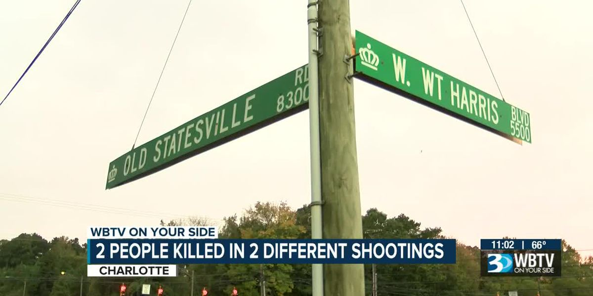 2 people killed in 2 different shootings