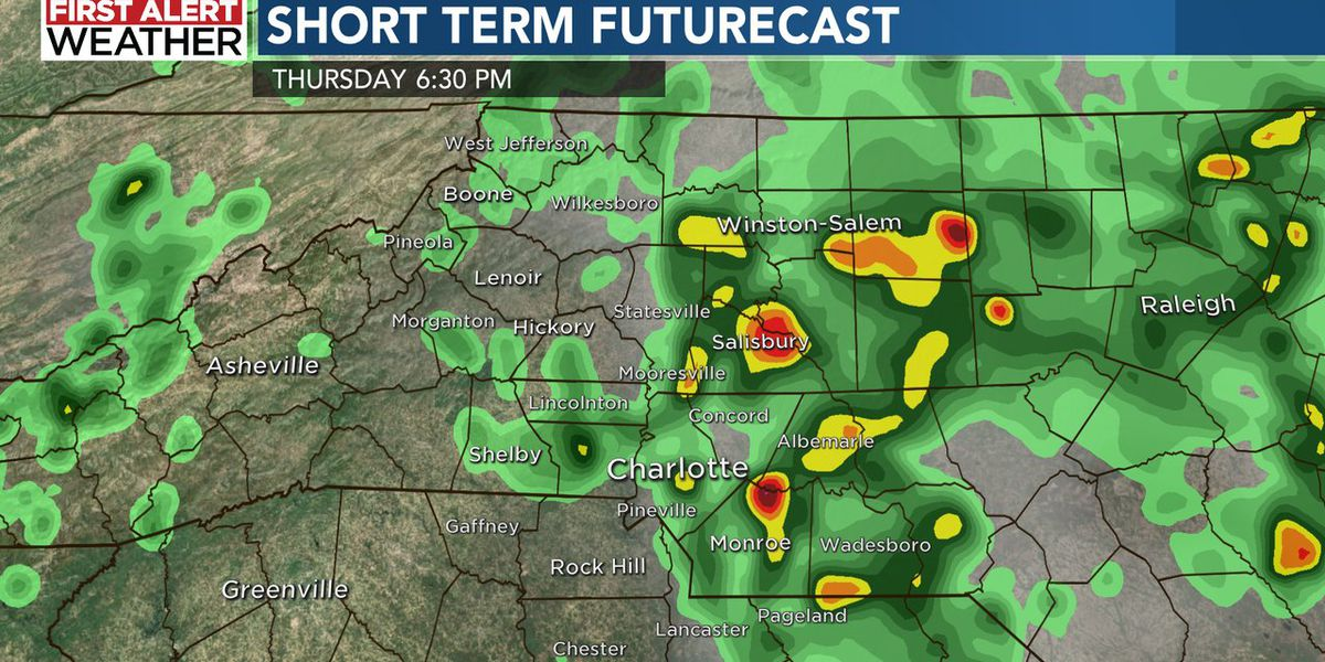First Alert: Flood potential remains as rain chances only gradually fall