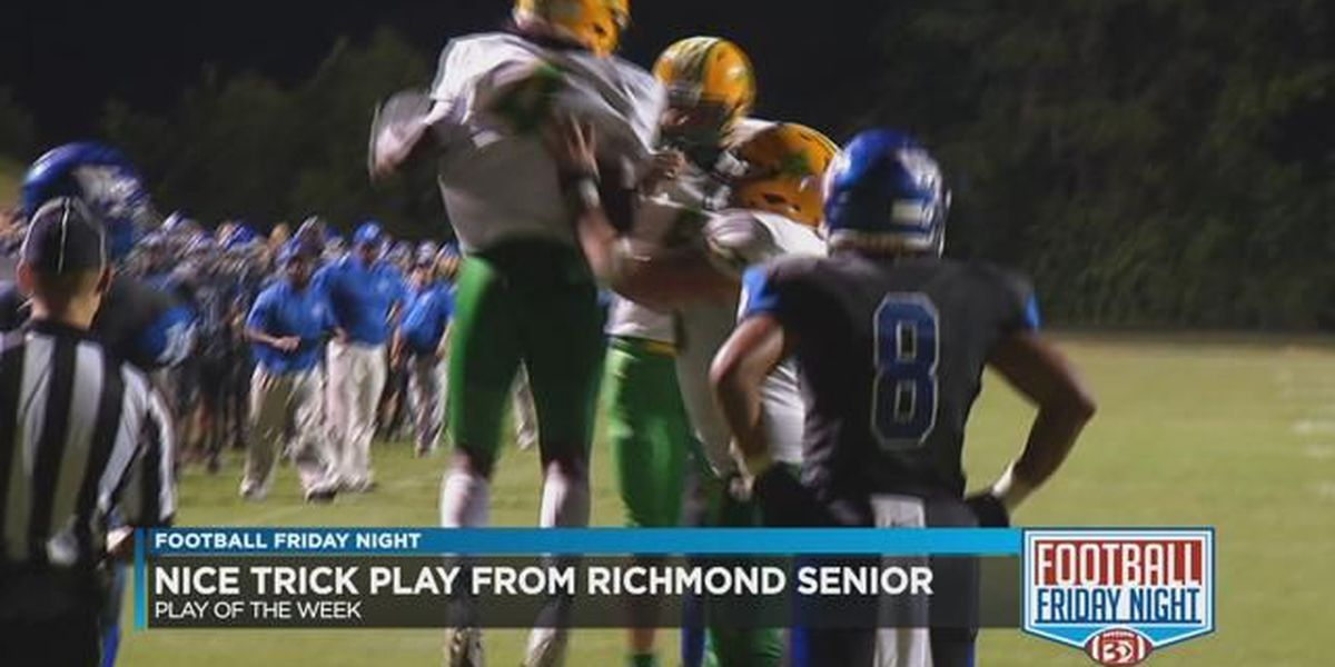Richmond Senior uses a trick play to get the FFN Play of the Week for week 2