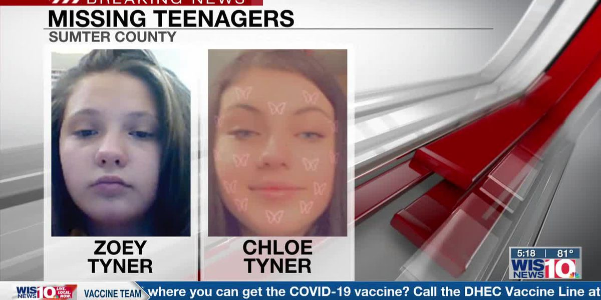 Officials searching for two teens reported missing from Sumter County