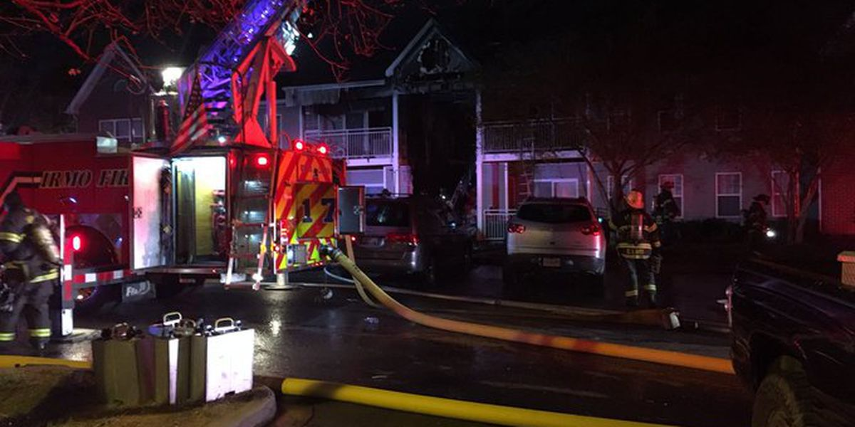 30+ residents displaced after large apartment fire in Columbia