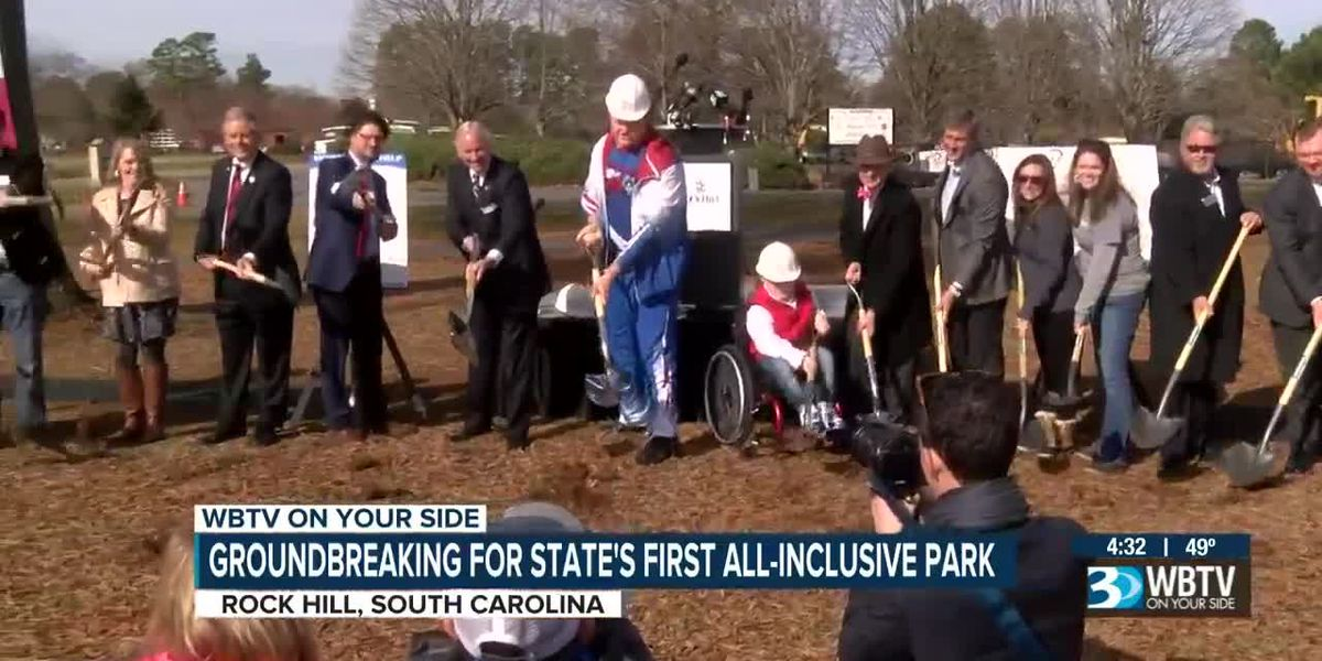 Groundbreaking for SC's first all-inclusive park