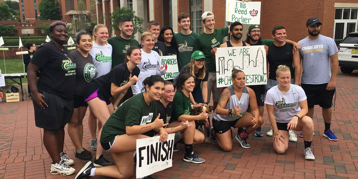 UNC Charlotte sports clubs organize 2-mile run to raise money