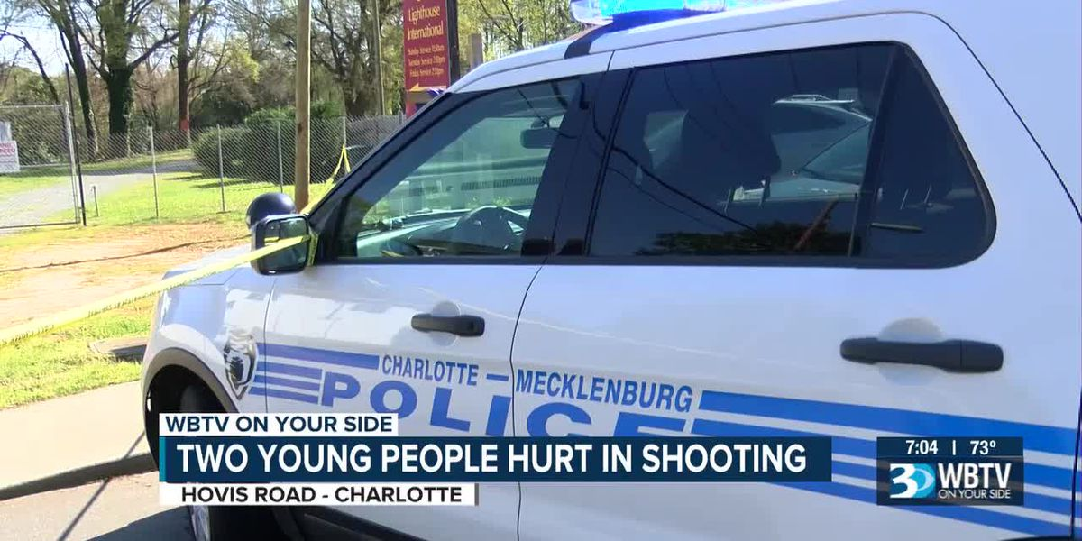 Two young people hurt in Charlotte shooting