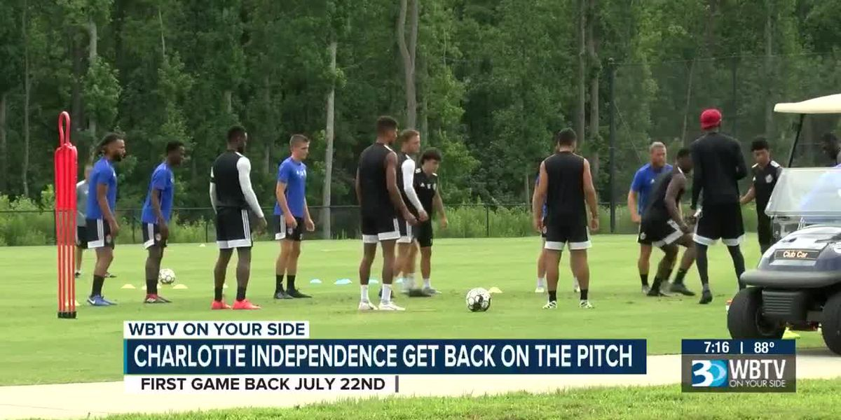 Charlotte Independence ready to get back on the pitch as the USL season restarts