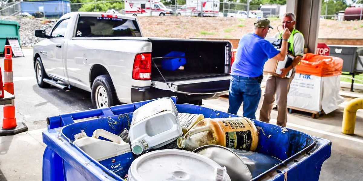 There's a place for your household hazardous waste in Cabarrus County