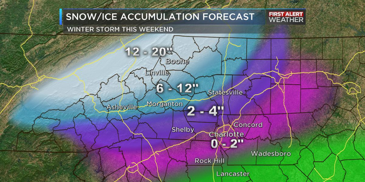 First Alert Days: Winter Storm Warning remains in effect through noon Monday