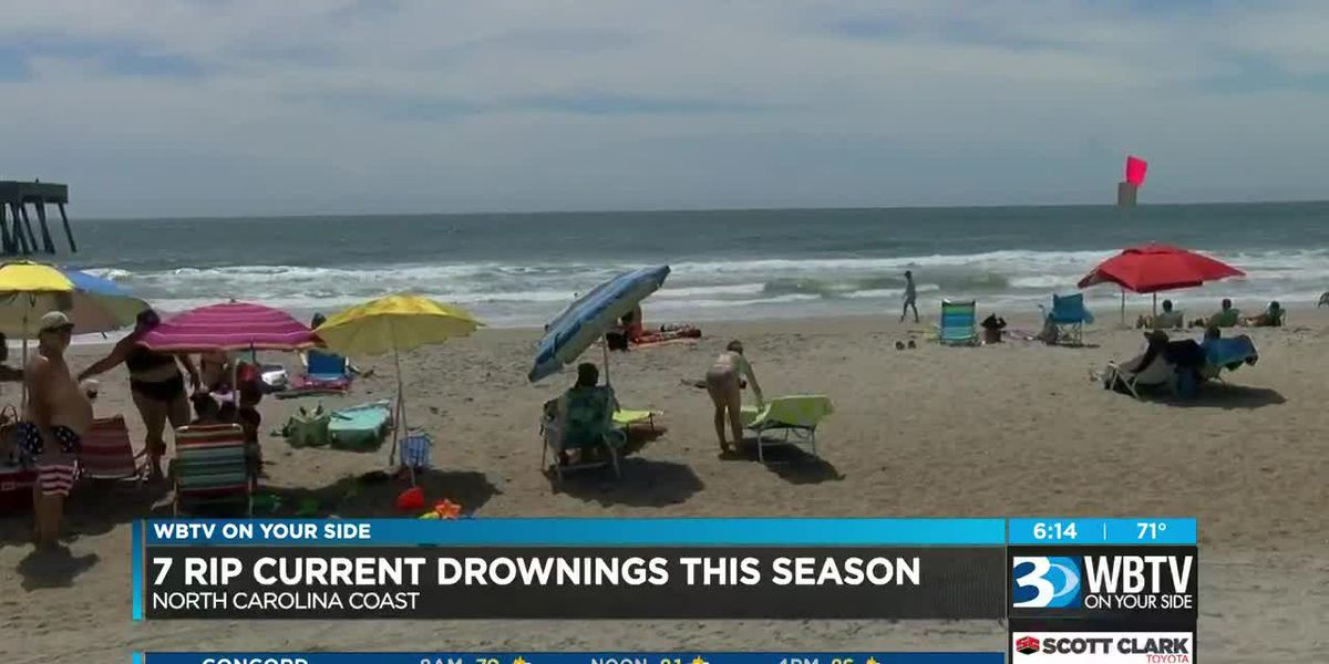 Water Safety: How to spot and survive rip currents