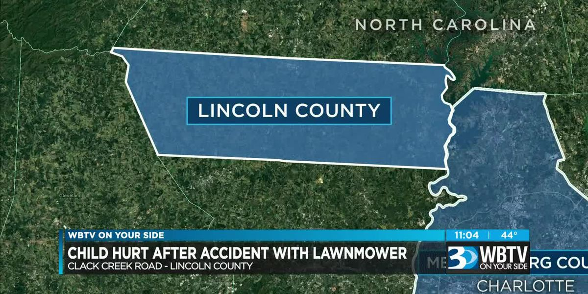Child hurt after accident with lawnmower