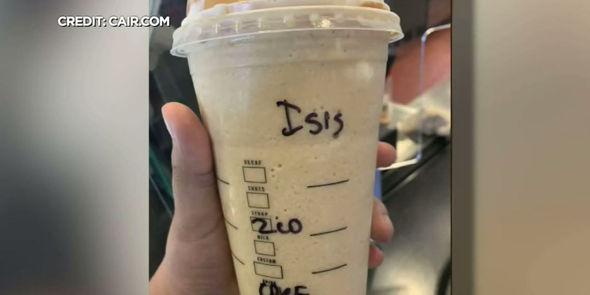 Starbucks barista accused of writing 'ISIS' on Muslim customer's cup in Minn.