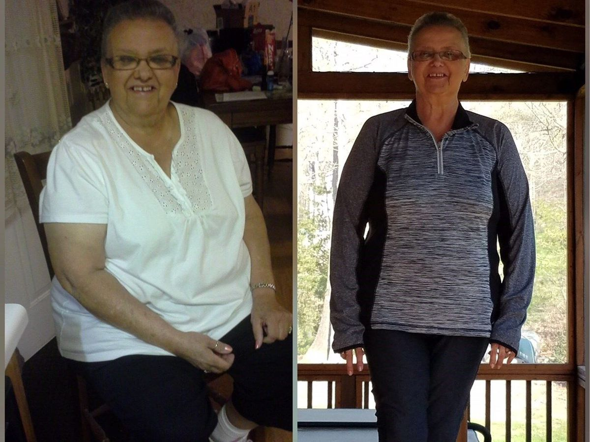 #TeamNOSugar Success Story: 71-year-old down 50 lbs!