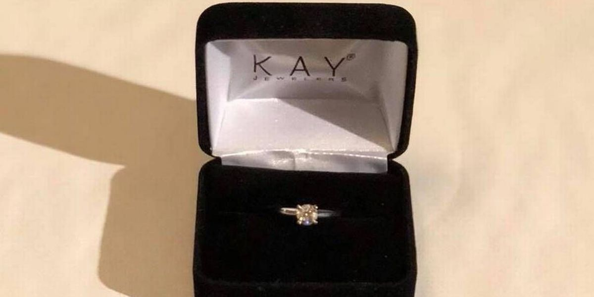 He's 'heartbroken' he never got to propose. He's giving the ring away – with a catch