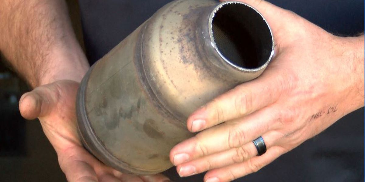 Catalytic converter theft on the rise in Charlotte