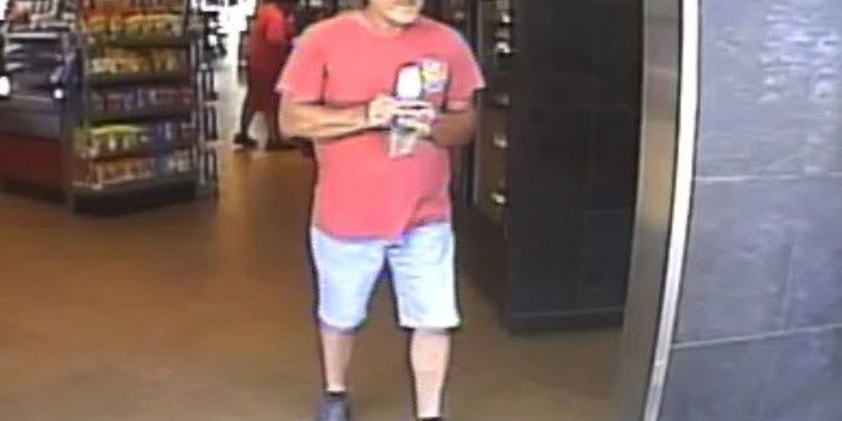 Man wanted for questioning after wallet stolen at gas station in Lake Wylie
