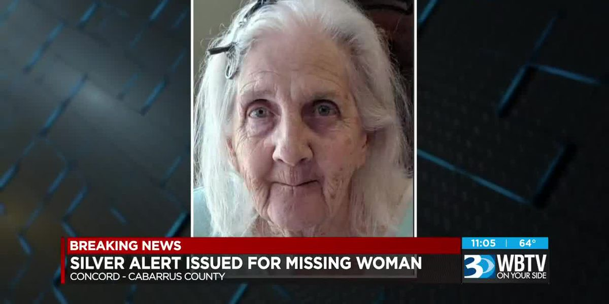 Silver Alert issued for 75-year-old woman reported missing in Concord