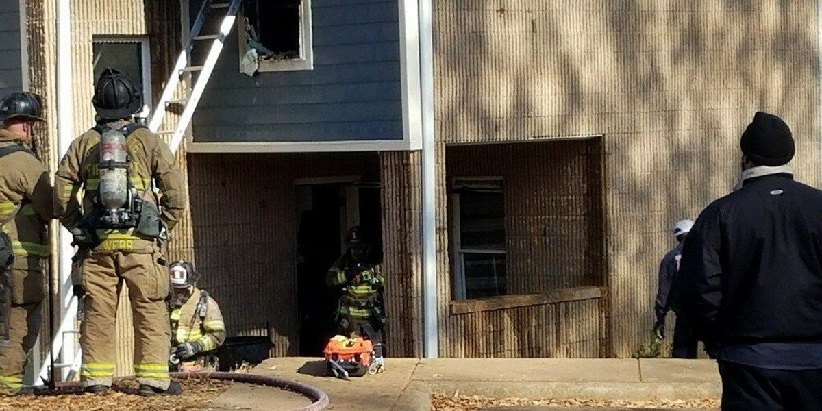 Smoke, flames visible in south Charlotte house fire