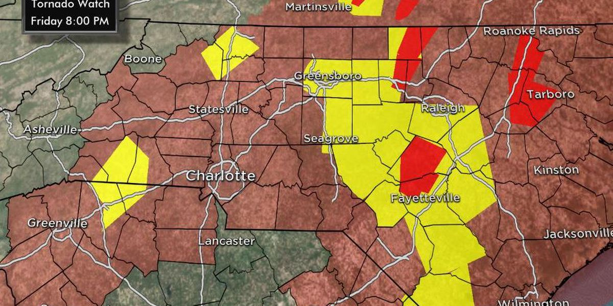 FIRST ALERT: Strong storms rip through WBTV viewing area