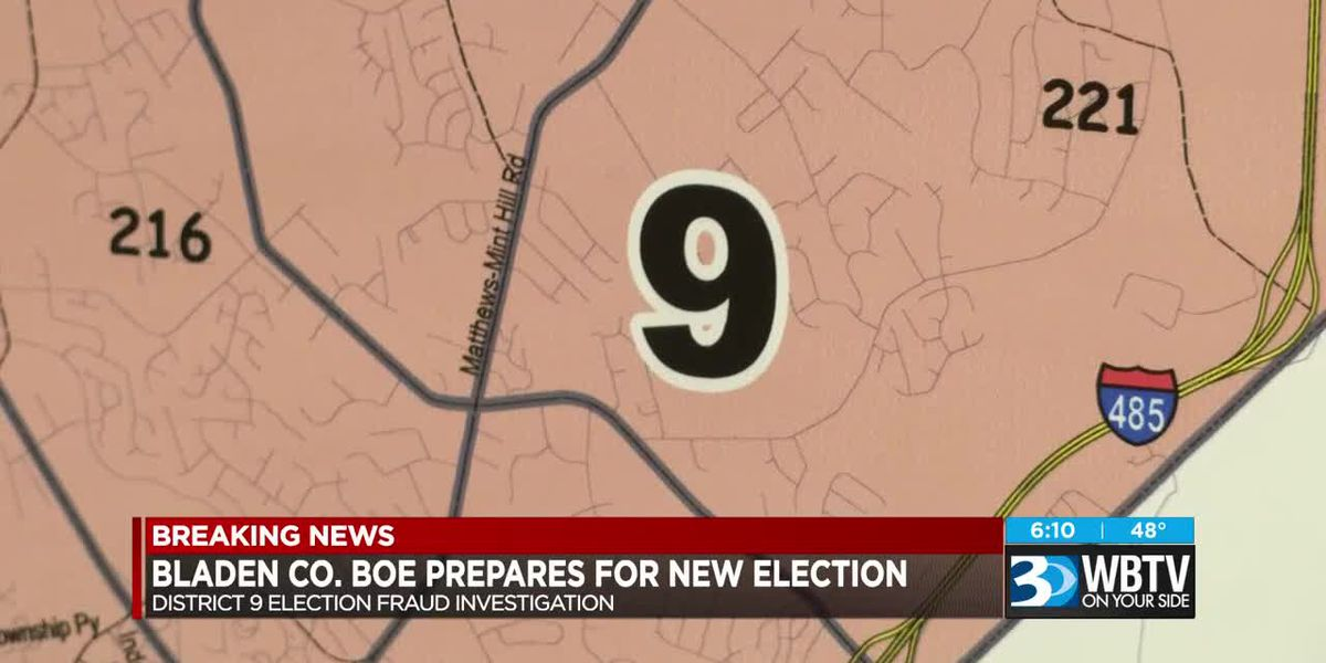 Bladen County BOE prepares for new election