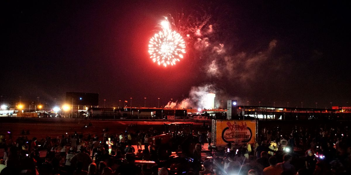 Stars collide, fireworks light the night sky at Bojangles' Summer Shootout in Concord
